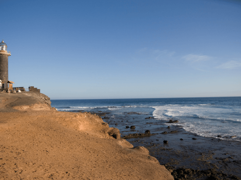lighthouse in Fuerteventura Canary Islands