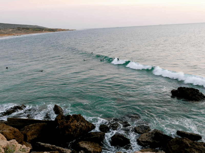morocco surfing spot