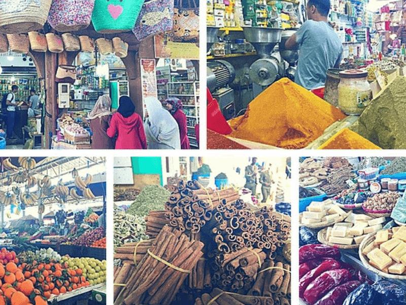 morocco souk agadir