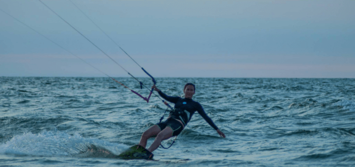 learn kiteboarding