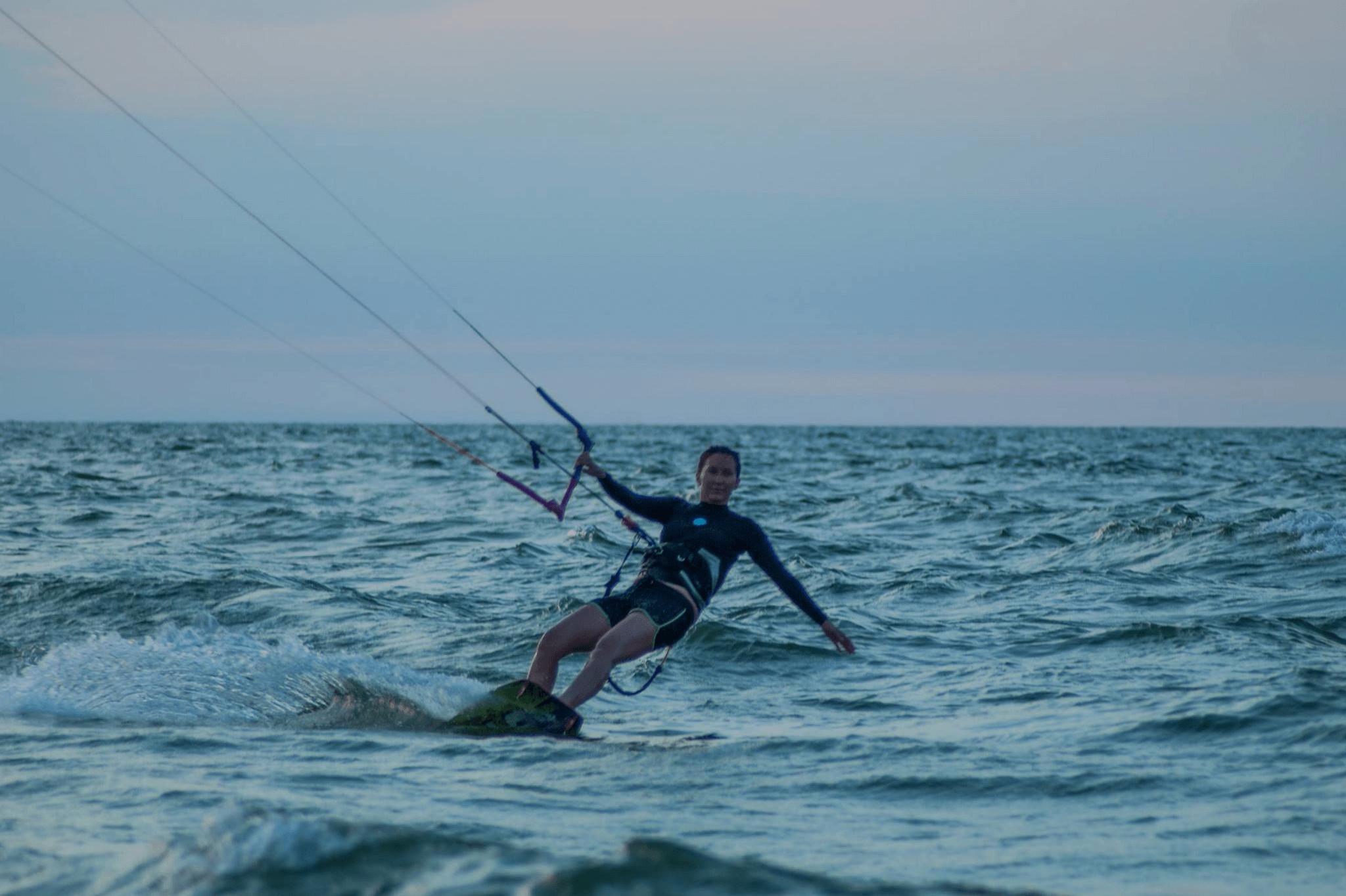 learn kiteboarding