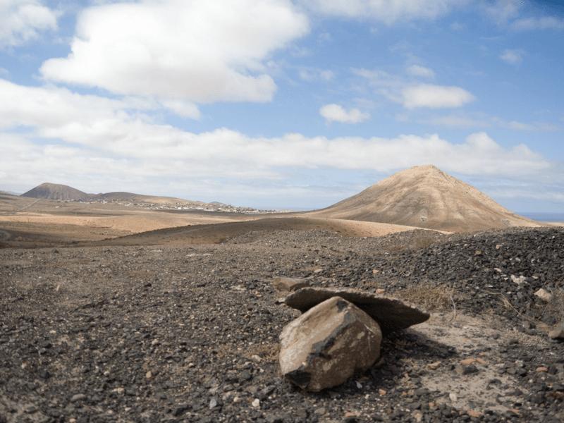 Fuerteventura volcanic landscape