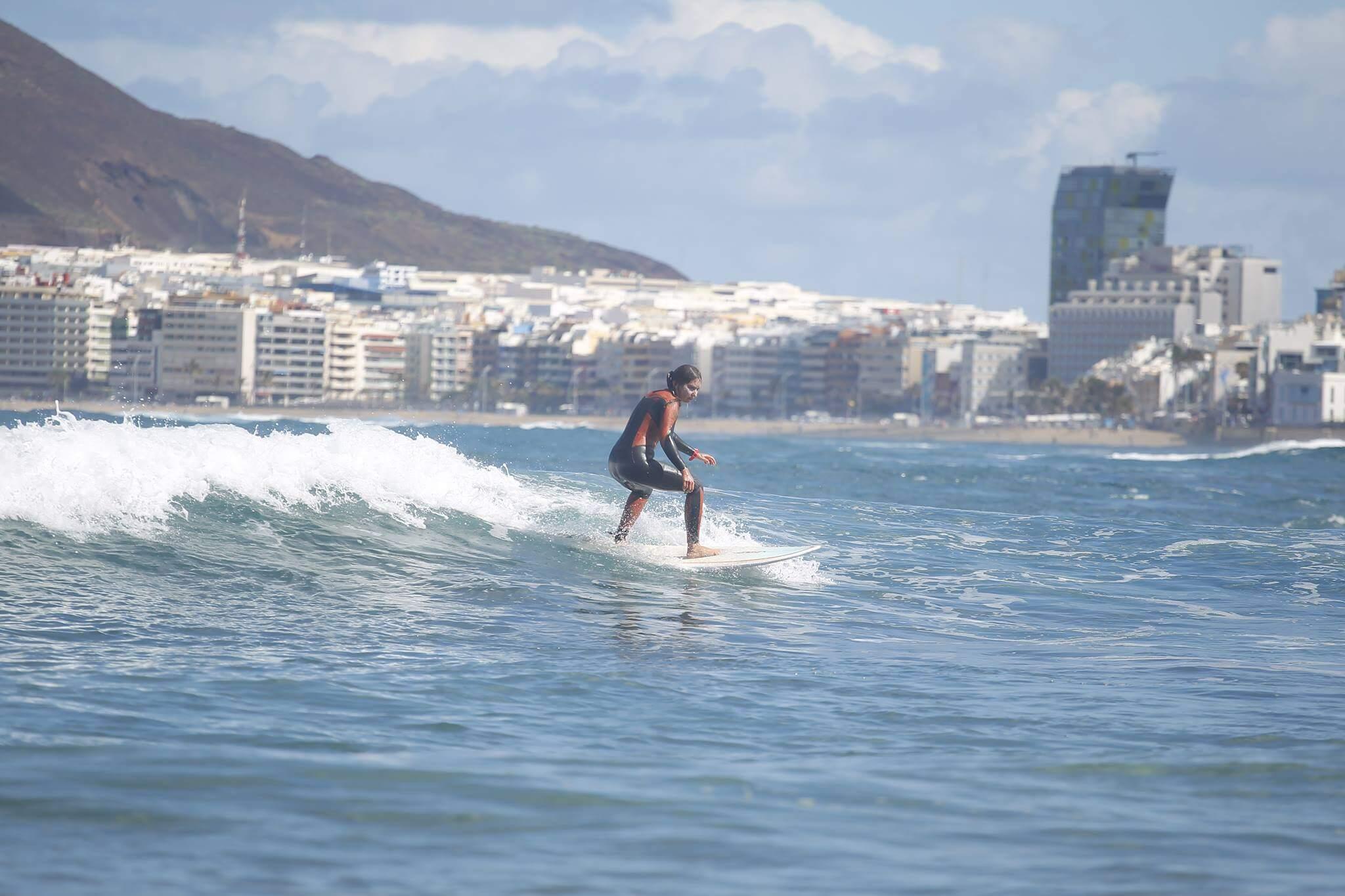 surfing las palmas