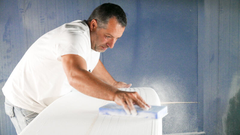 how surfboards are made shaper's workshop